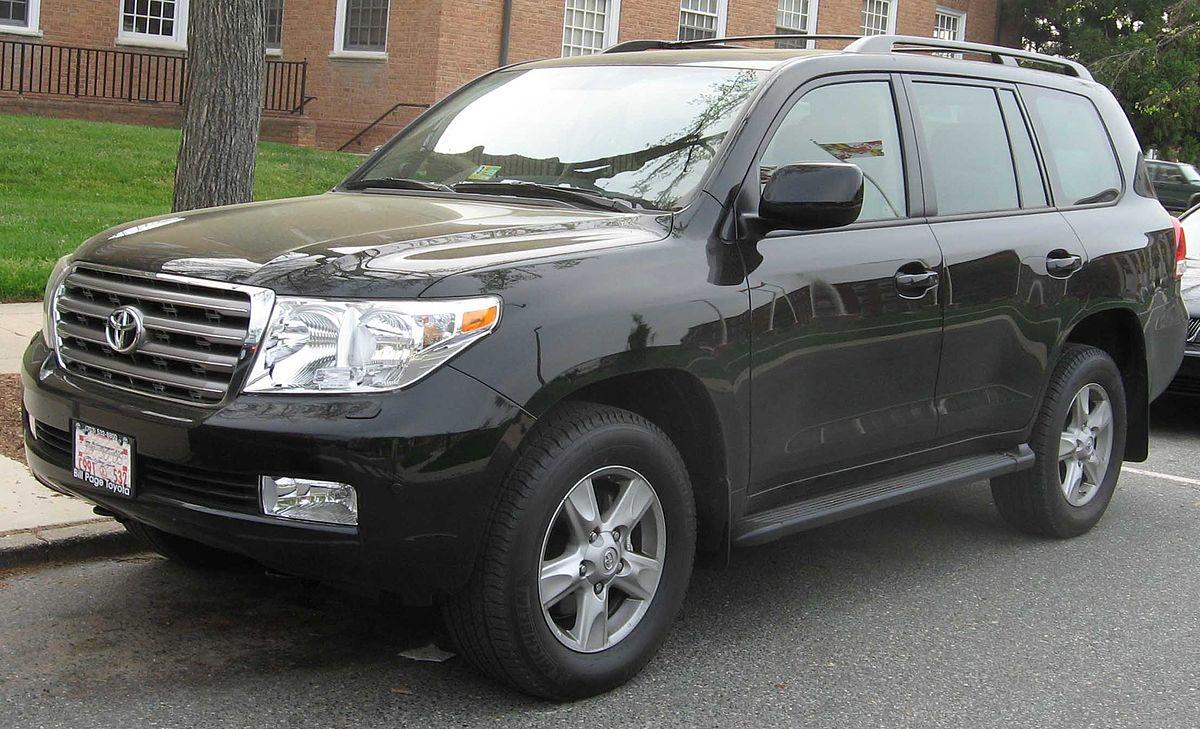El robo de Toyotas LandCruiser